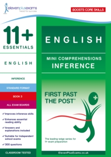 11+ Essentials English Mini Comprehensions: Inference Book 3, Paperback Book