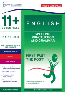 11+ Essentials English: Spelling, Punctuation and Grammar Book 1, Paperback Book
