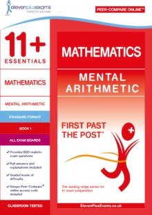 11+ Essentials Mathematics: Mental Arithmetic Book 1, Paperback / softback Book