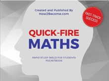 QUICK-FIRE MATHS Pocketbook : Tips and tricks to increase your mathematical speed, Paperback / softback Book