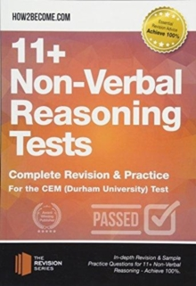 11+ Non-Verbal Reasoning Tests : Complete Revision & Practice for the CEM (Durham University) Test, Paperback / softback Book