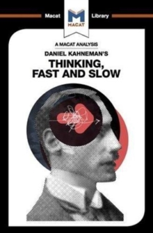 Daniel Kahneman's Thinking, Fast and Slow, Paperback Book