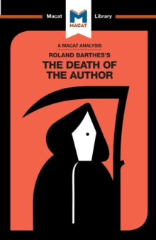 Roland Barthes's The Death of the Author, Paperback / softback Book