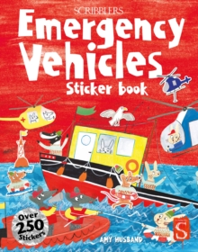 Scribblers Fun Activity Emergency Vehicles Sticker Book, Paperback / softback Book