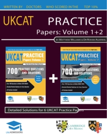 UKCAT PRACTICE PAPERS VOLUMES ONE TWO, Paperback Book