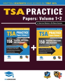 TSA PRACTICE PAPERS VOLUMES ONE TWO, Paperback Book
