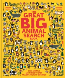 The Great Big Animal Search Book, Hardback Book