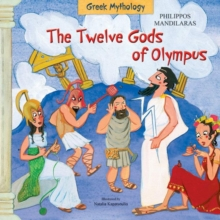Twelve Gods of Olympus, Hardback Book