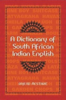 A dictionary of South African Indian English, Paperback / softback Book