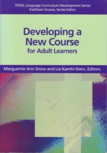 Developing a New Course for Adult Learners, Paperback Book