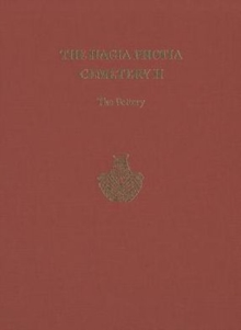The The Hagia Photia Cemetery : The Hagia Photia Cemetery II The Pottery Volume 2, Hardback Book