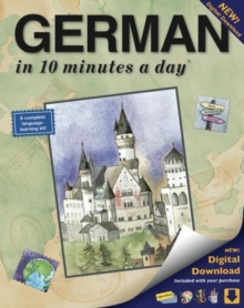GERMAN in 10 minutes a day (R) Audio CD, Mixed media product Book