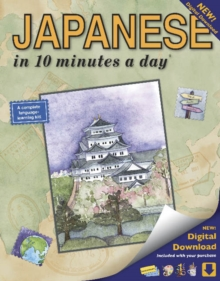 Japanese in 10 Minutes a Day, Paperback Book