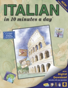 ITALIAN in 10 minutes a day (R), Paperback / softback Book