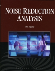 Noise Reduction Analysis, Hardback Book