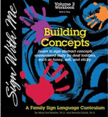 SIGN WITH ME,  VOLUME. 2 DVD : Building Concepts, DVD Book