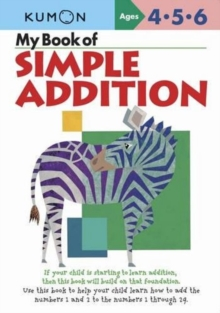 My Book Of Simple Addition, Paperback / softback Book