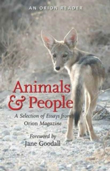 Animals and People : A Selection of Essays from Orion Magazine, Paperback Book