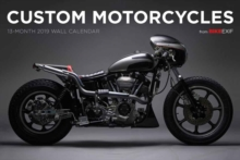 Custom Motorcycle Bike EXIF Calendar 2019, Calendar Book