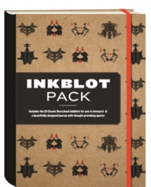 The Inkblot Pack : Includes the 10 Classic  Inkblots for You to Interpret & a Beautifully Designed Journal with Thought Provoking Quotes, Hardback Book