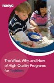 The What, Why, and How of High-Quality Programs for Toddlers : The Guide for Families, Pamphlet Book