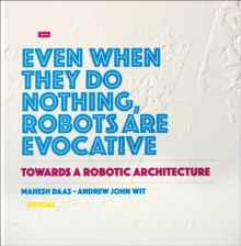 Towards a Robotic Architecture, Hardback Book