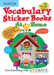 Vocabulary Sticker Books: At Home, Paperback / softback Book