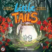 Little Tails in the Forest, Hardback Book