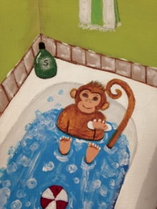 There's a Monkey in My Bathroom, Paperback / softback Book