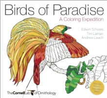 Birds of Paradise : A Coloring Expedition, Novelty book Book