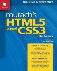 Murachs HTML5 and CSS3, Paperback Book