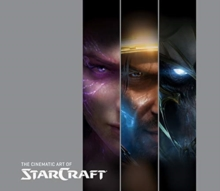 Cinematic Art of StarCraft, Hardback Book