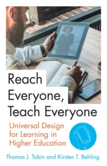 Reach Everyone, Teach Everyone : Universal Design for Learning in Higher Education, Hardback Book