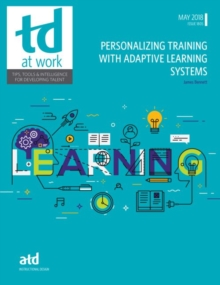 Personalizing Training With Adaptive Learning Systems, Paperback / softback Book