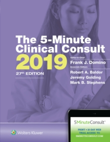The 5-Minute Clinical Consult 2019, Hardback Book