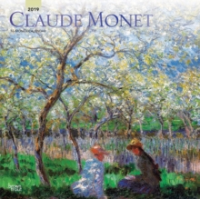 Monet, Claude 2019 Square Wall Calendar, Calendar Book
