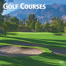 Golf Courses 2020 Square Wall Calendar, Calendar Book
