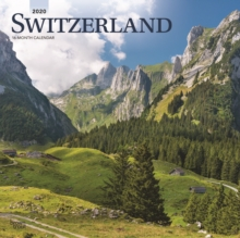Switzerland 2020 Square Wall Calendar, Calendar Book