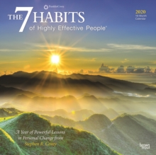 7 Habits of Highly Effective People, the 2020 Square Wall Calendar, Calendar Book