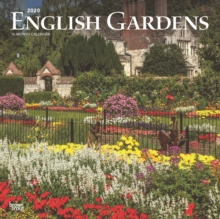 English Gardens 2020 Square Wall Calendar, Calendar Book
