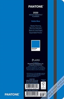 Pantone Planner 2020 Compact Plato Noble Blue, Diary Book
