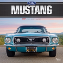 Avc Calendar 2021 Ford Mustang 2021 Square Foil Avc Calendar: : 9781975440909: hive
