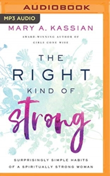 RIGHT KIND OF STRONG THE, CD-Audio Book
