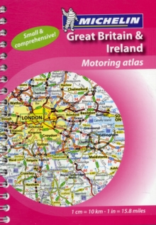 Mini Atlas GB & Ireland, Spiral bound Book