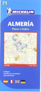 Almeria City Plan, Sheet map, folded Book