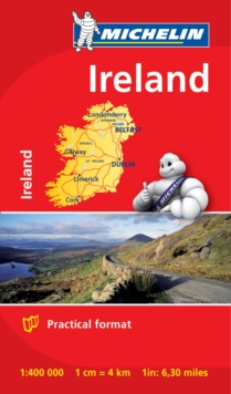 Ireland - Michelin Mini Map 8712 : Map, Sheet map Book