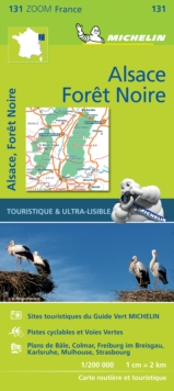 Black Forest, Alsace, Rhine Valley - Zoom Map 131 : Map, Sheet map Book