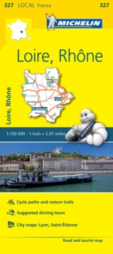 Loire, Rhone - Michelin Local Map 327 : Map, Sheet map Book