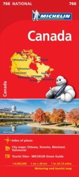 CANADA - Michelin National Map 766 : Map, Sheet map Book