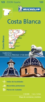 Costa Blanca - Zoom Map 123 : Map, Sheet map Book